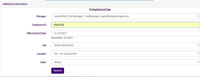 ApplicantCare to CompliantCare Data Transfer