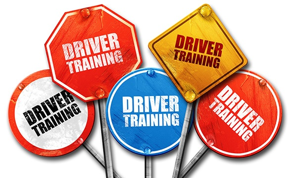 driver training signs